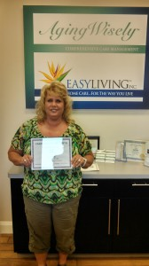 EasyLiving Home Caregiver of the Month