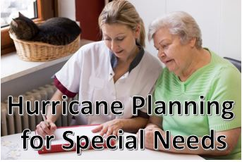 hurricane planning for special needs