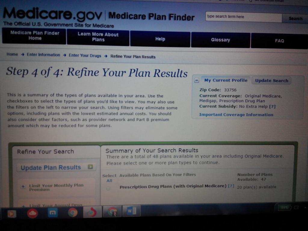 Medicare 2017 plan choice