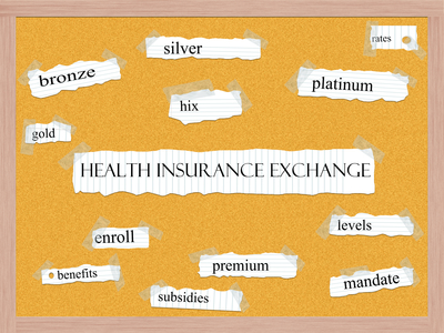 health insurance exchange FAQs and terms